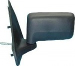 Ford Fiesta MK3 [89-94] Complete Lever Adjust Mirror Unit - Black